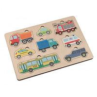 Пазл деревянный «Автомобили»