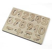 Пазл деревянный «Арифметика»