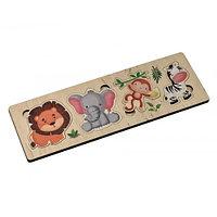 Пазл деревянный «Африканские животные»