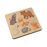 Пазл деревянный «Лесные животные»