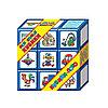 Набор больших развивающих кубиков «Кубики-лото»