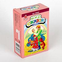 Пластмассовые кубики-картинки «Мир сказок-3», 6 штук, фото 1