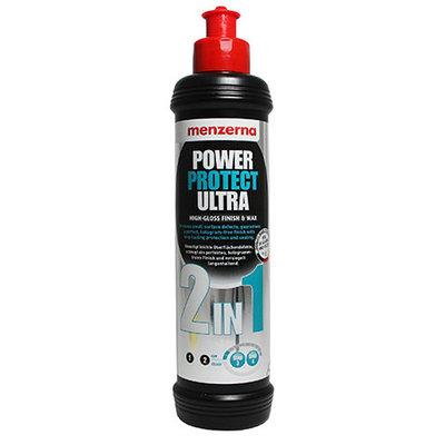 Power Protect Ultra 2 in 1 Универсальная полировальная паста с воском карнауба MENZERNA  250гр