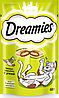 Лакомство Dreamies для взрослых кошек с уткой, 60г