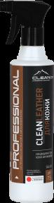 CLEANLEATHER- средство для ухода за изделиями из кожи.500 мл,1 литр и 5 литров. РК, фото 2
