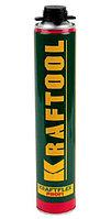 Пена KRAFTOOL  KRAFTFLEX PREMIUM PRO LOW профессиональная полиуретановая, для монтажного пистолета, SVS, 800мл