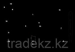 Мультиинструмент, мультитул LEATHERMAN MUT EOD BLACK, чехол MOLLE-BROWN, фото 3