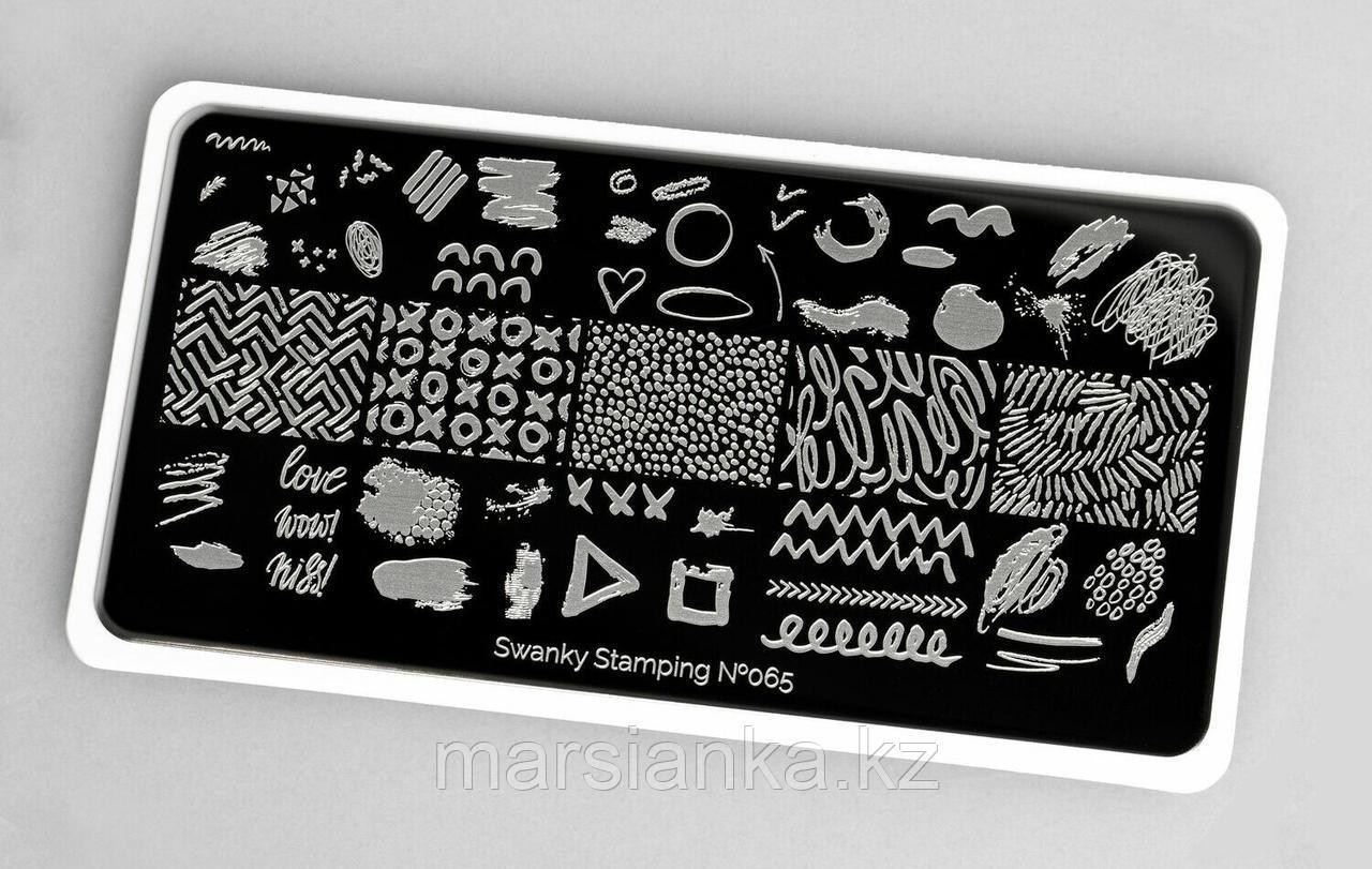 Пластина Swanky Stamping #065