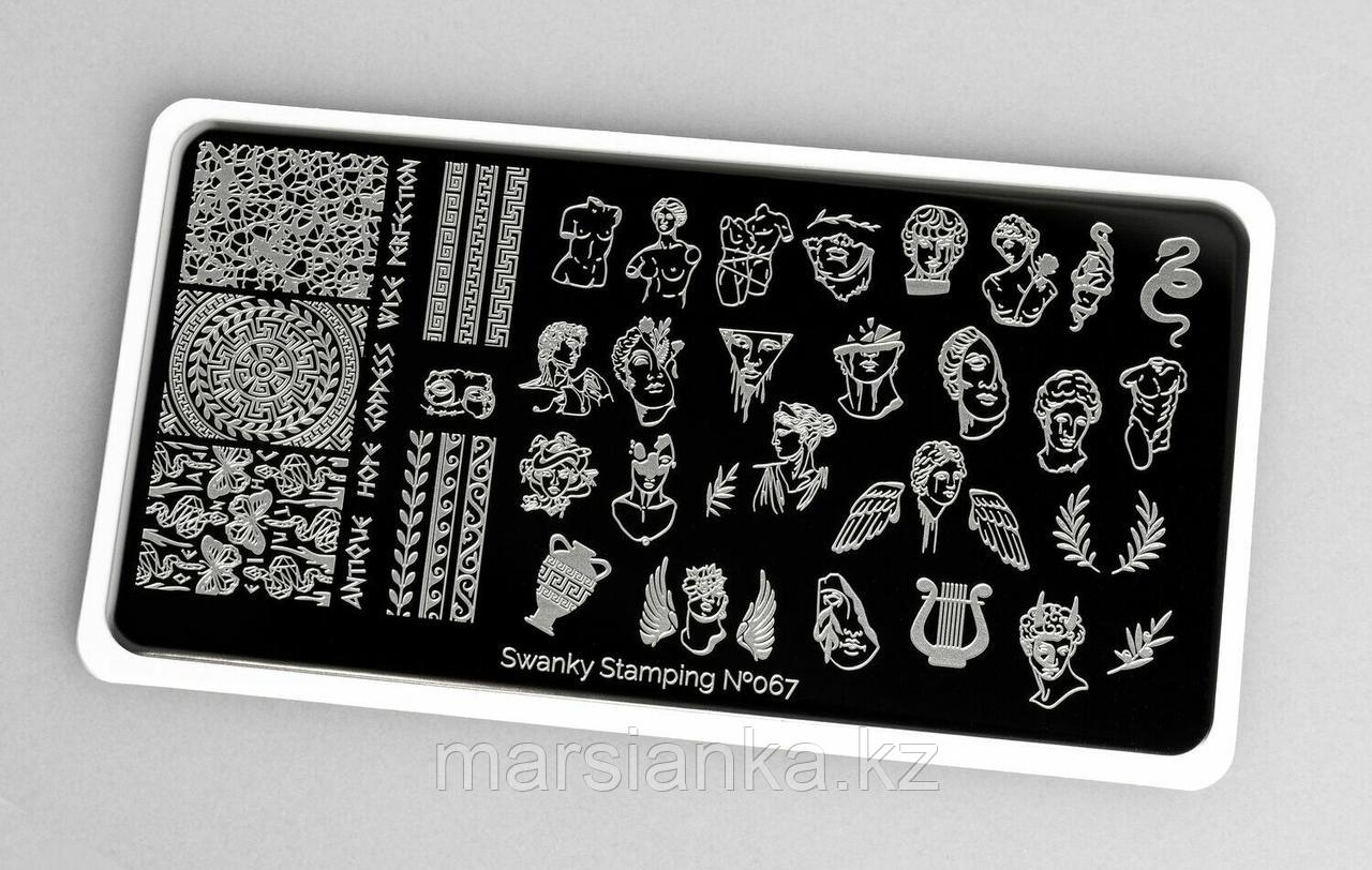 Пластина Swanky Stamping #067