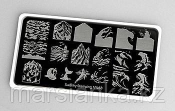 Пластина Swanky Stamping #068