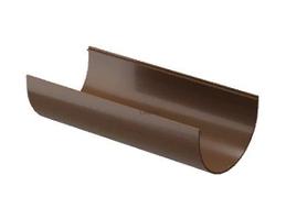 Желоб водосточный 120x3000 мм DACHA Döcke (Дача Дёке) Коричневый