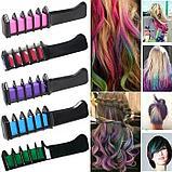 Мелки для волос, расческа, фото 3