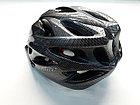 Велосипедный шлем под карбон с задним сигналом, фото 2