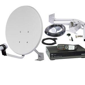 оборудование для спутникового телевидения, общее