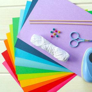 бумага цветная и картон