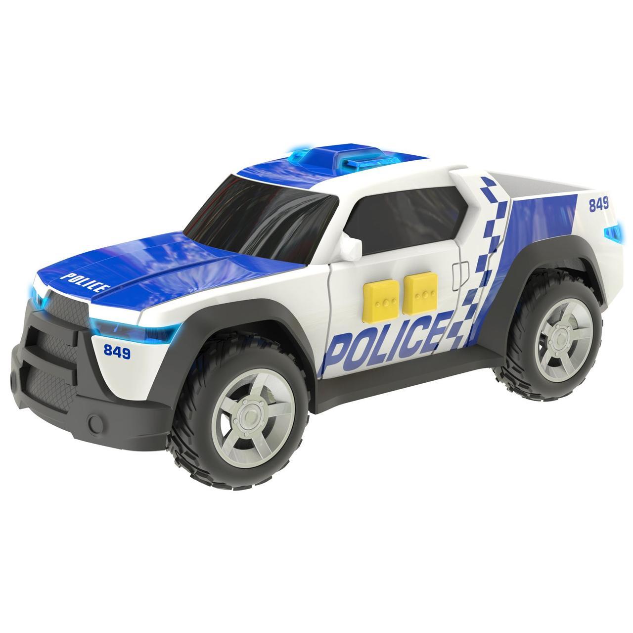 Teamsterz Игрушечная машинка Полицейский грузовик, 15 см (свет, звук)