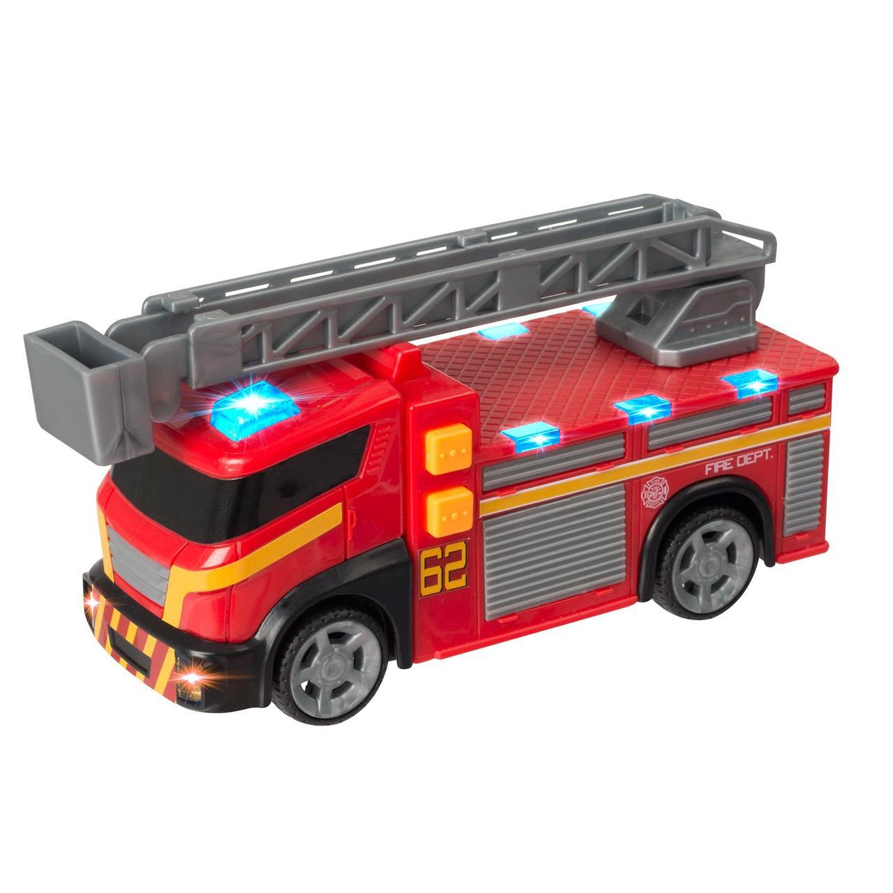 Teamsterz Игрушечная машинка Пожарная машина, 15 см (свет, звук)