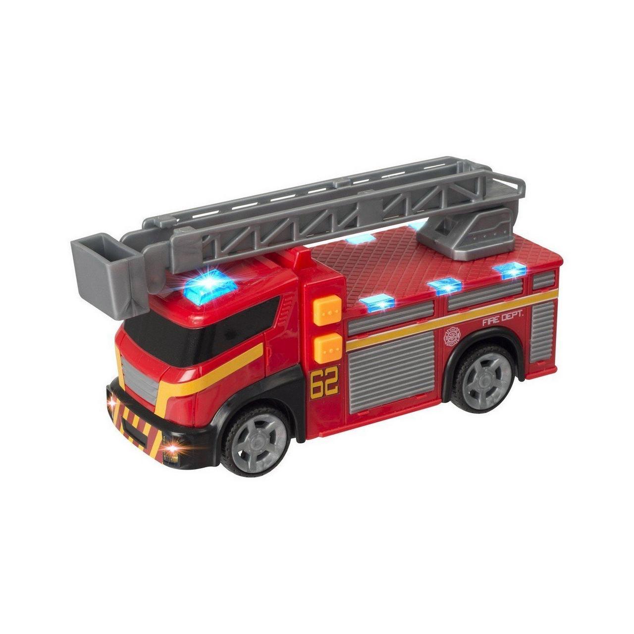 Teamsterz Игрушечная машинка Mighty Moverz Пожарная машина 25 см (свет, звук)