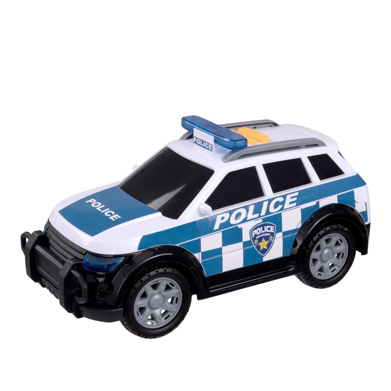 Teamsterz Игрушечная машинка Mighty Moverz Полиция 4x4 25 см (свет, звук)