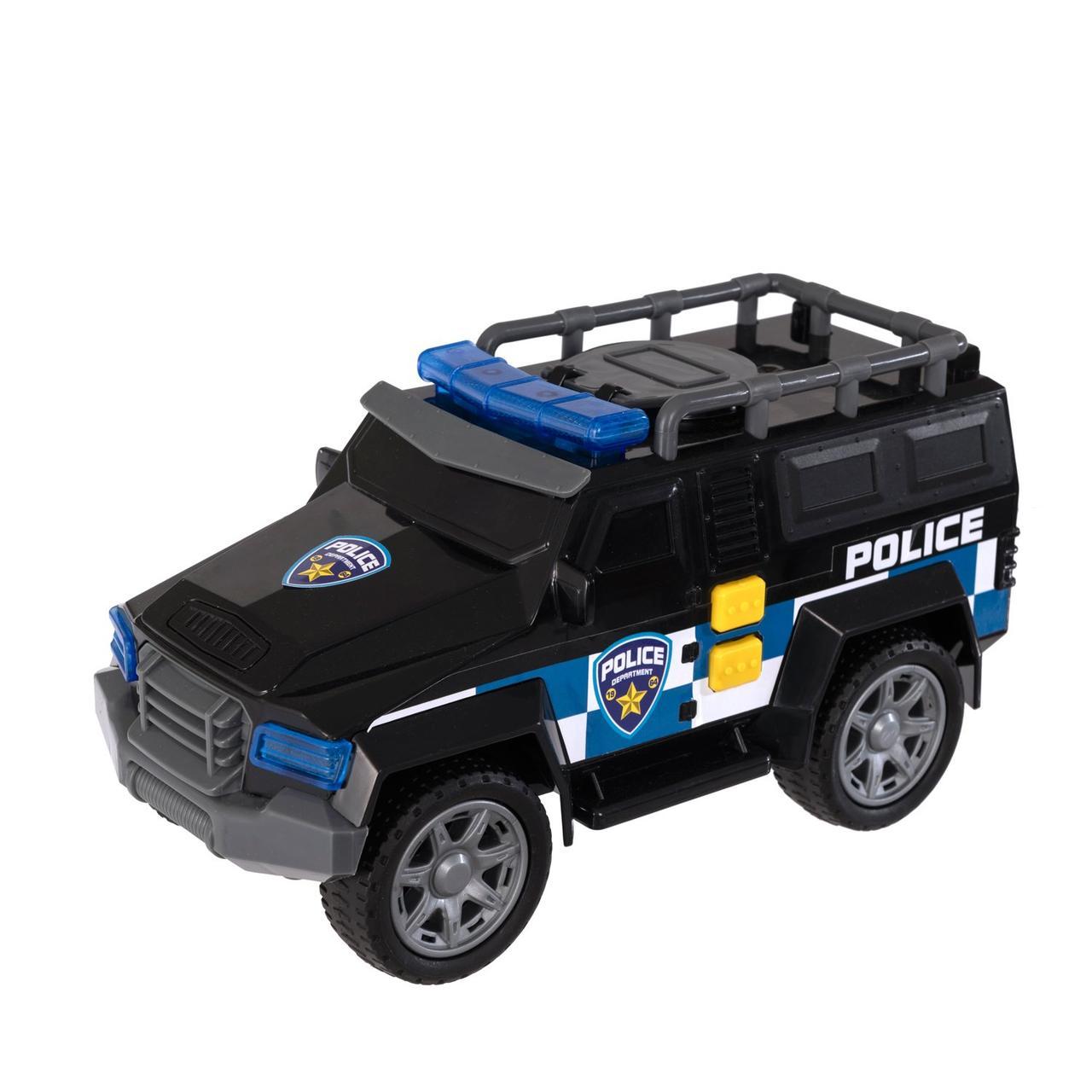 Teamsterz Игрушечная машинка Mighty Moverz Внедорожник спецслужб 25 см (свет, звук)