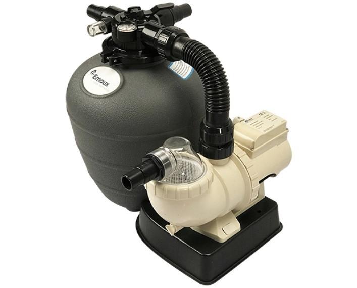 FSU-8TP Моноблок (фильтр 300, насос 6 q/h,с таймером)