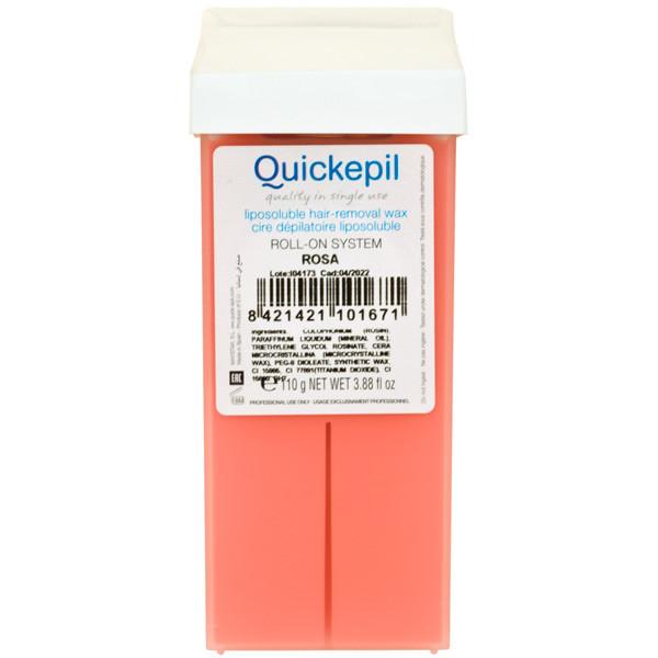 Воск в картридже Quickepil - Розовый 110 гр