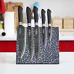 Набор ножей с магнитной подставкой Everich ER-0055 (BL) 6 предметов, фото 2