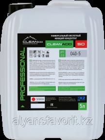 CLEANACID 50 - средство для мытья унитазов и сантехники. 1 литр и 5 литров.РК, фото 2