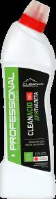 CLEANACID GEL -средство для мытья унитазов и сантехники -концентрат. 750 мл. и 5 литров. РК