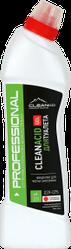 CLEANACID GEL - кислотное средство для мытья унитазов и сантехники . 750 мл. и 5 литров. РК