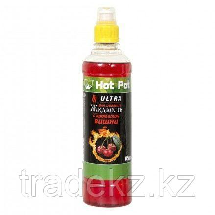 Жидкость для розжига вишневая НоT Pot (0,5 л. – Ultra), фото 2