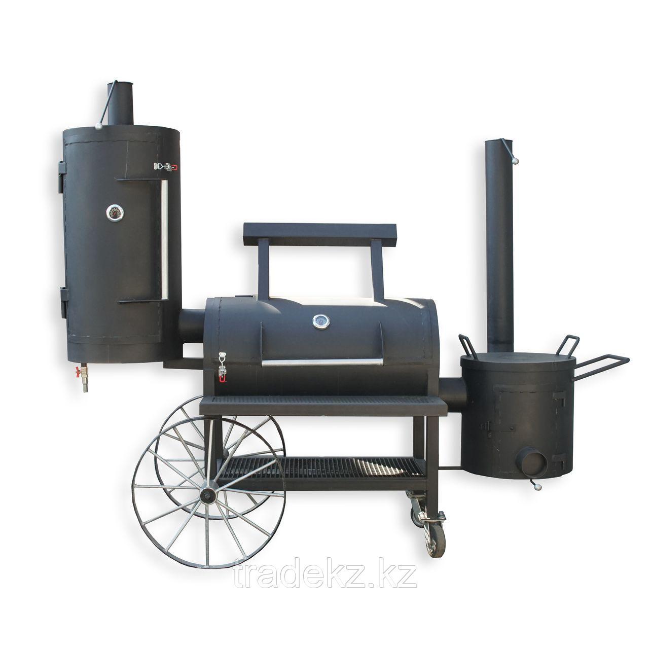 "Гриль - коптильня - смокер Smoker 3 в 1 ""GrillHouse"""