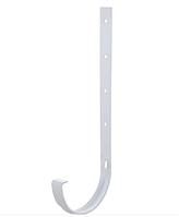 Держатель желоба металлический 120/80 мм DACHA Döcke (Дача Дёке) Белый