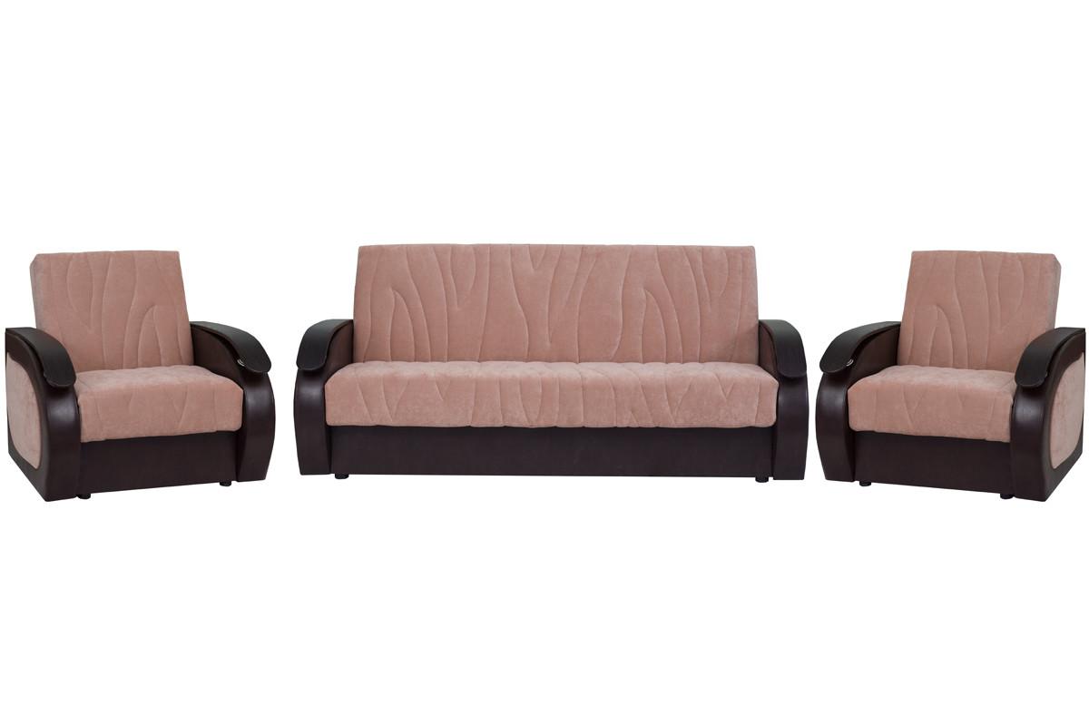Комплект мягкой мебели Сиеста 2, Фисташковый, АСМ(Россия)