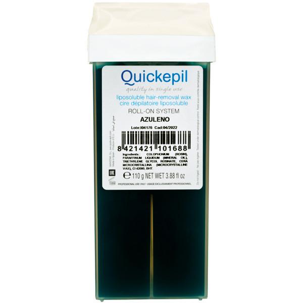 Воск в картридже Quickepil - Азуленовый 110 гр