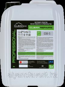 CLEANREPAIRS - кислотное чистящее средство после ремонта. 1 литр и 5 литров., фото 2