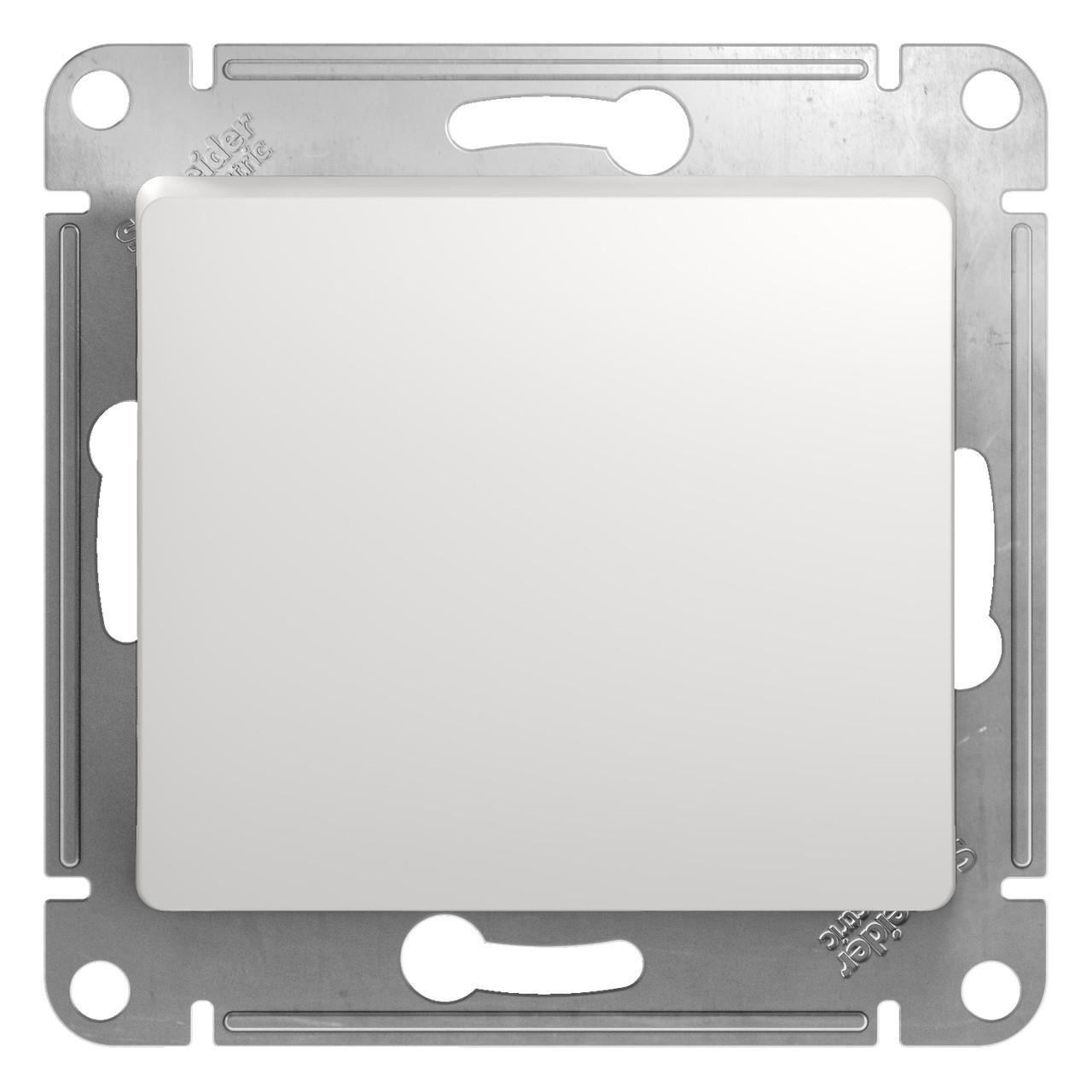 GSL000115 Glossa - 1-полюсовый кнопка - механизм - 10 A - белый