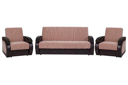 Комплект мягкой мебели Сиеста 2, Бежевый, АСМ Элегант(Россия), фото 2