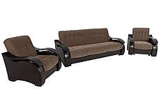 Кресло традиционное как часть комплекта Рио 4, Nika05/Ecotex213, Мебельный Формат (Россия), фото 2