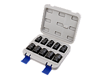 Набор ударных торцевых головок 1/2, 10 шт. (10-24 мм) в кейсе