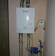 Монтаж напольных и настенных газовых котлов