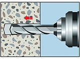 Анкер клиновой по бетону (A2K)-40/50-M6X97, фото 4