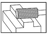 Твердосплавная фреза D6-WL18 mm, фото 2
