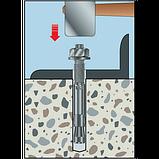 Анкер по бетону W-FA/S,M16X130/10-28мм,оцинк.сталь, фото 2