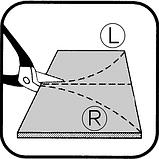Ножницы для фигурной резки L260 mm, фото 2