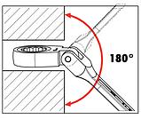Набор ключей с трещеткой , 6шт, фото 2