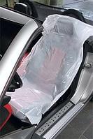Одноразовая накидка на сиденье эконом 820Х1300мм 10 мкм 500 шт/рул.