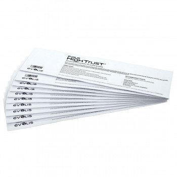 Комплект для расширенной чистки карт принтеров (10 T-карт) Evolis ACL004
