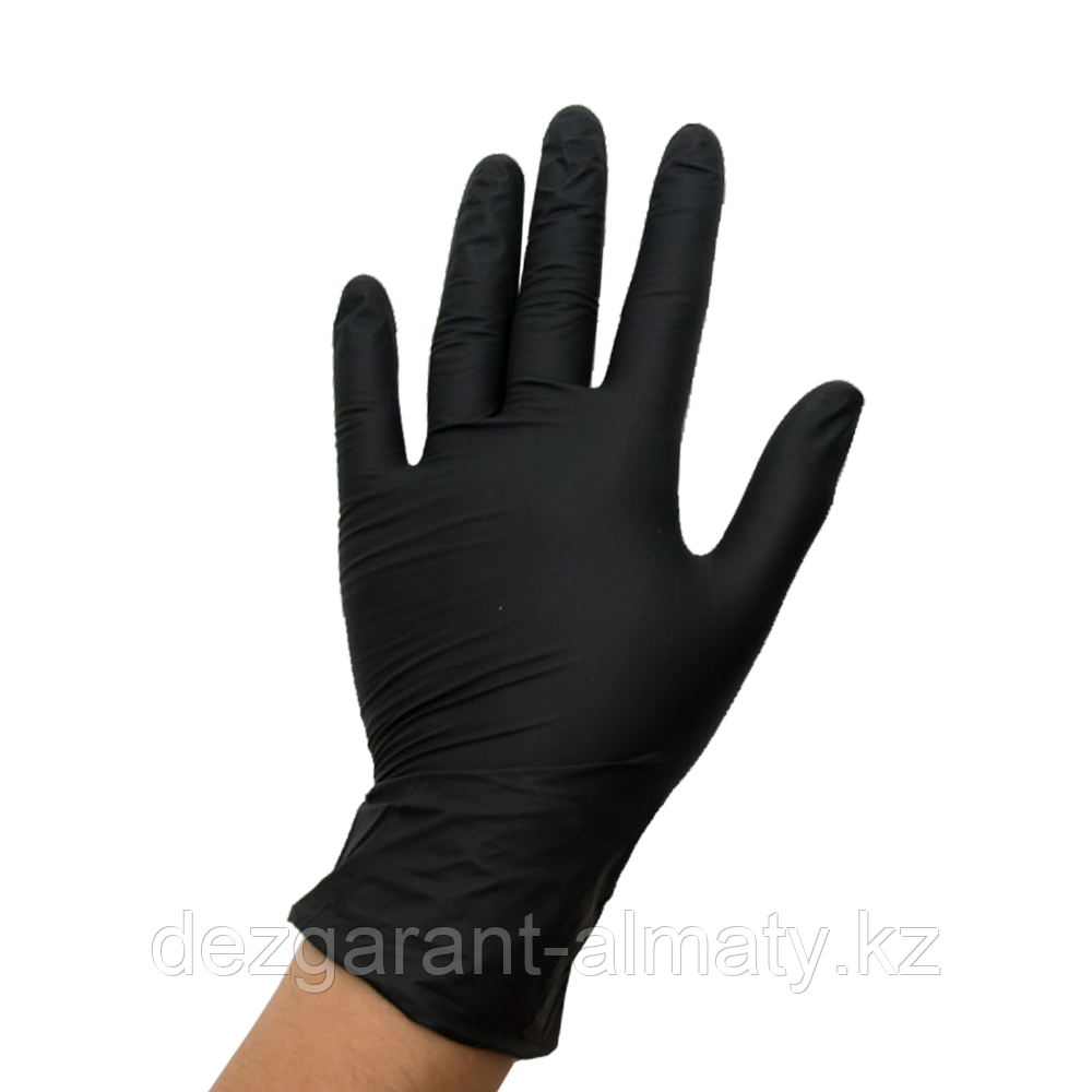 Перчатки одноразовые нитриловые размер L