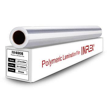 Глянцевая полимерная пленка для холодной ламинации INFLEX 1,27мХ50м